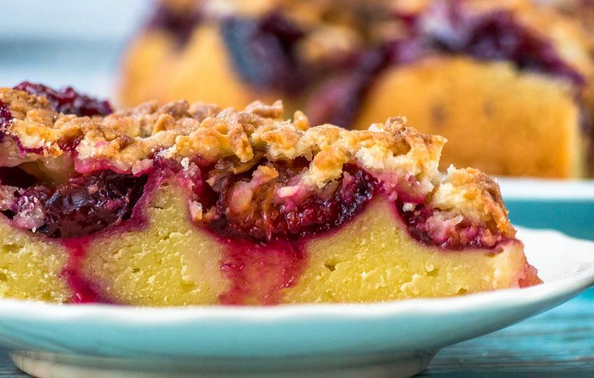 Ciasto jogurtowe ze śliwkami i kruszonką, a także najlepsze przepisy na ciasto ze śliwkami na jogurcie, proste, smaczne i błyskawiczne przepisy