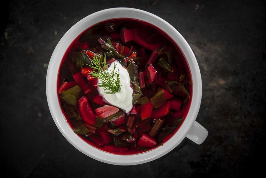 Wiosenna zupa z botwinki z ziemniakami i łyżką gęstej śmietany, a także najsmaczniejsze przepisy na botwinkę