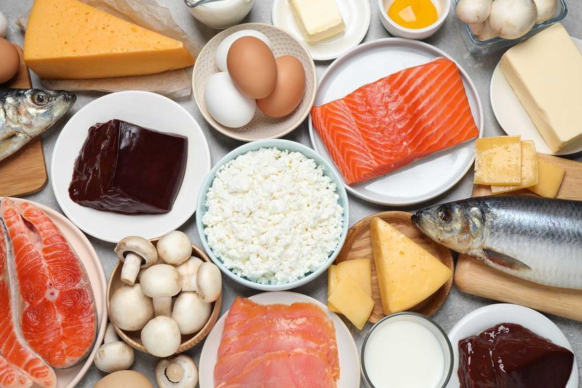 Produkty będące źródłem witaminy D, kluczowego składnika na diecie na Hashimoto, a także inne składniki, jadłospis i przepisy na diecie na tarczycę