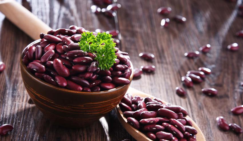 Czerwona fasola w misce, a także najlepsze przepisy na wykorzystanie czerwonej fasoli w kuchni