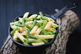 Makaron z fasolką szparagową. 3 proste przepisy na danie fit