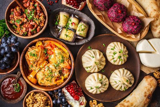 Kuchnia gruzińska - opis, tradycyjne dania, przepisy, ciekawostki