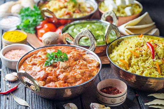 Kuchnia indyjska - opis, dania, przepisy, przyprawy, porady