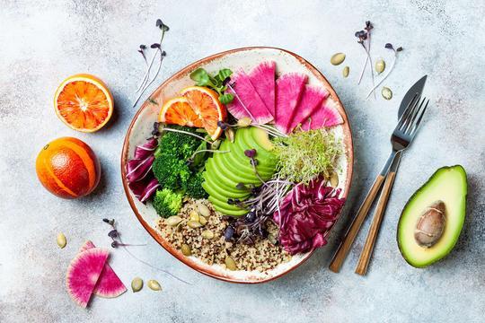 Dieta owowegetariańska - opis, zasady, przykładowe menu, porady