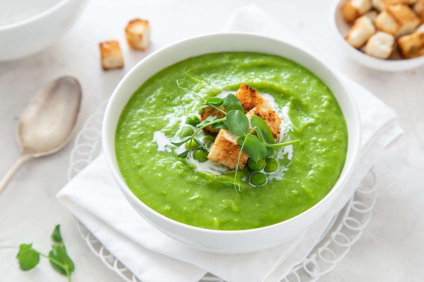 Zupa krem z zielonej fasolki szparagowej