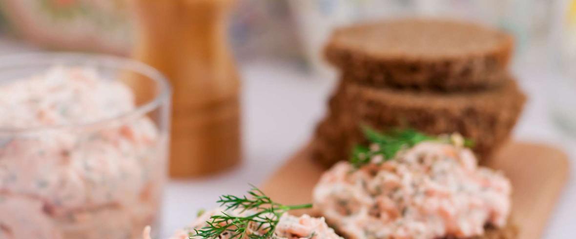 pasta z łososia