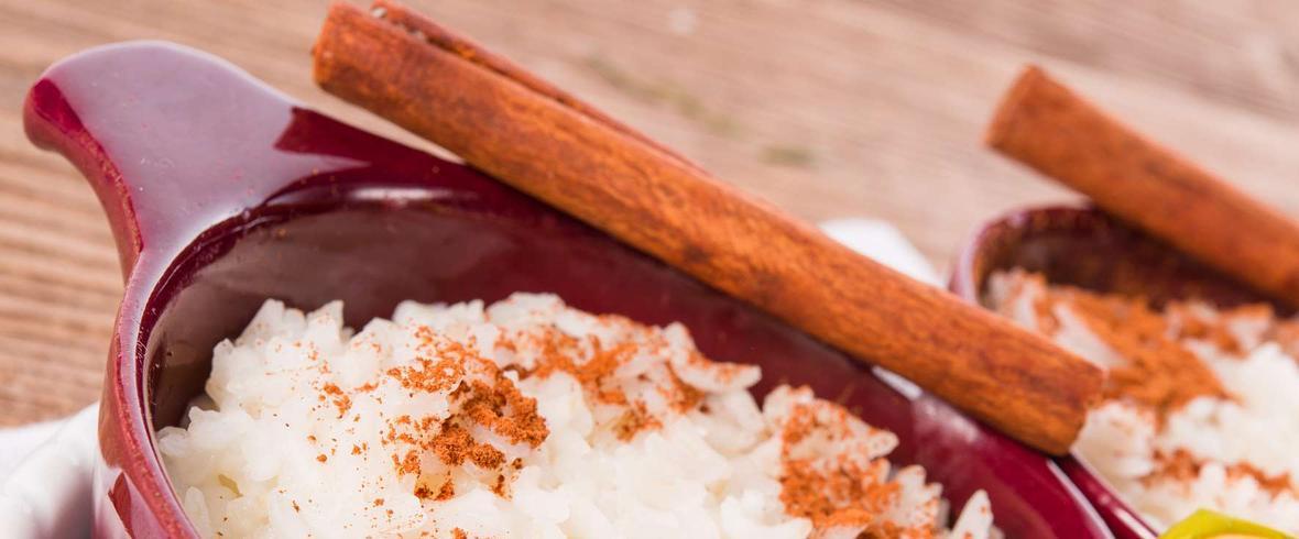 ryż z jabłkiem z cynamonem