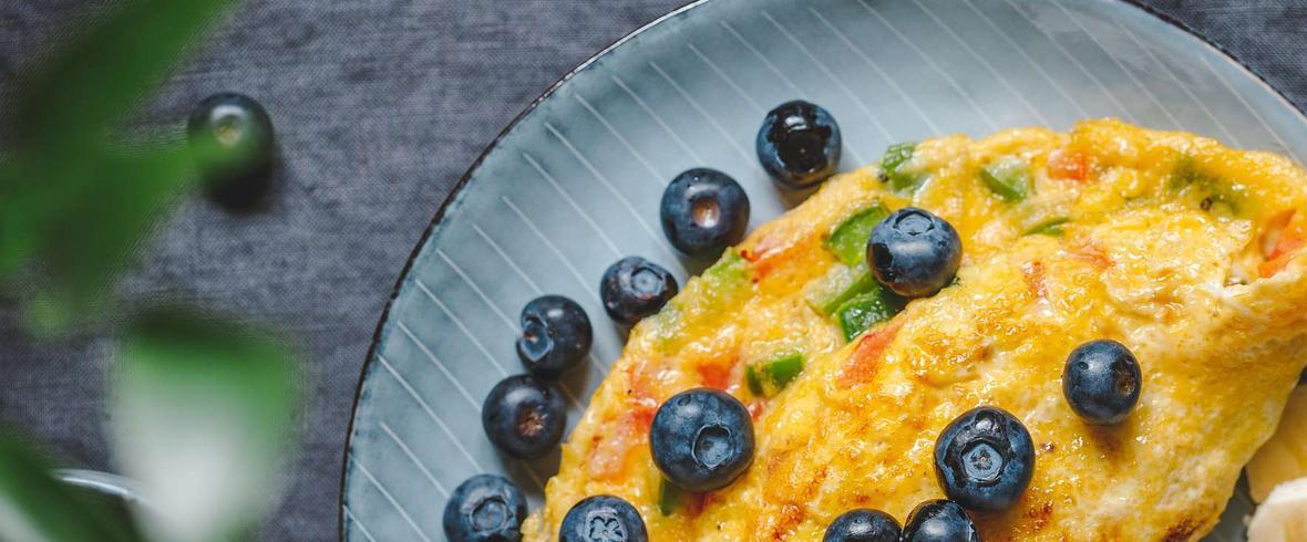 omlet bez jajek