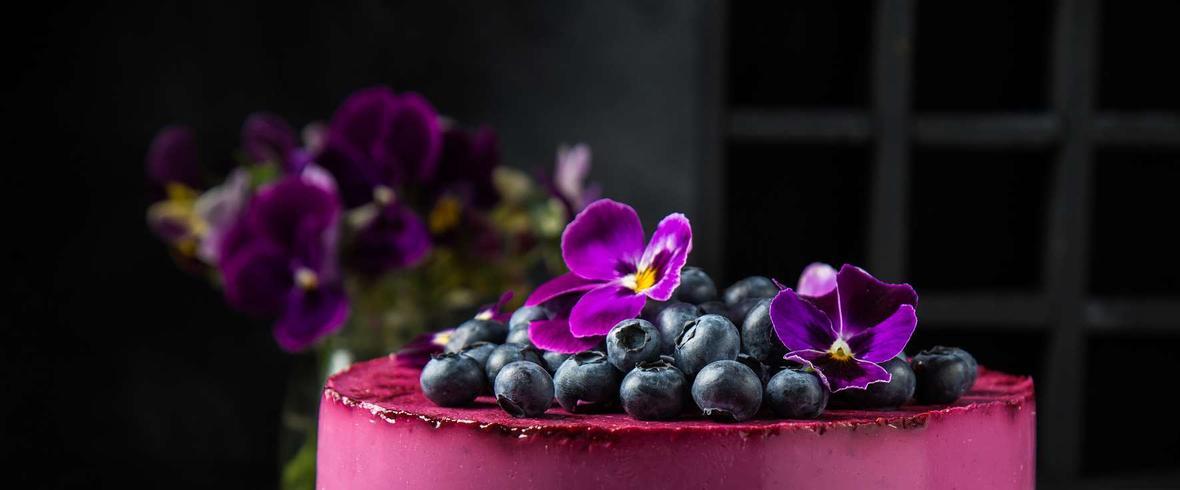 sernik jagodowy