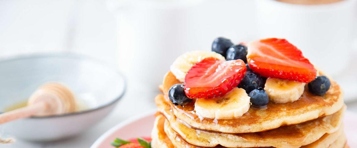 bananowe pancakes