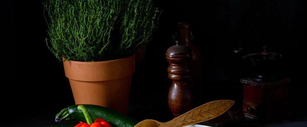 Kaszotto z kurczakiem po meksykańsku z serem żółtym