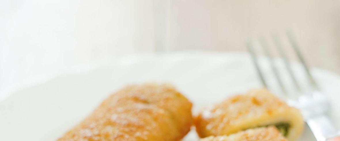 Krokiety ze szpinakiem