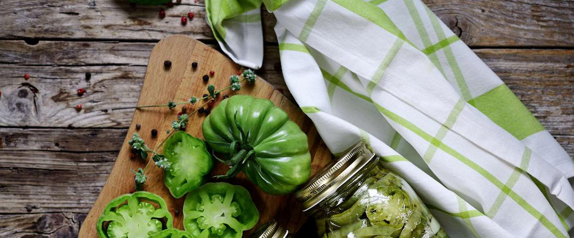 Sałatka ukraińska z zielonych pomidorów