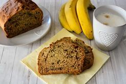Wegański chlebek bananowy