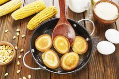 Placuszki z mąki kukurydzianej