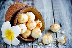Kokosanki z białek