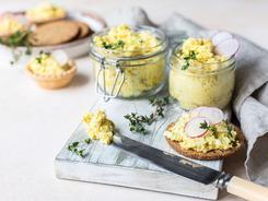 Pasta jajeczna z chrzanem