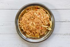 Sałatka z zupek chińskich i kurczakiem
