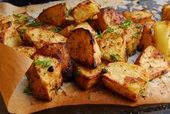 Ziemniaki łódeczki