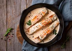 Ryba w sosie śmietanowym