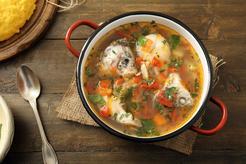 Zupa rybna z głów