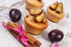 Muffiny ze śliwkami