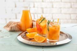 Koktajl z pomarańczy