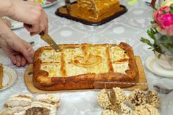 Kołacz z serem