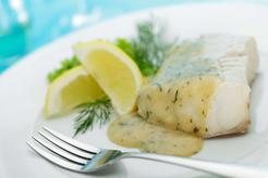 Ryba w sosie koperkowym