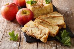 Szybkie ciasto z jabłkami i olejem