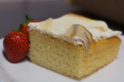 Ciasto krówka na biszkopcie