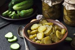 Ogórki kanapkowe z curry