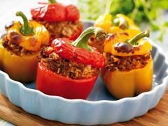 Papryka faszerowana wegetariańska
