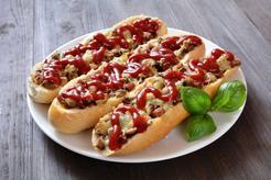 Zapiekanki z mięsem mielonym i warzywami