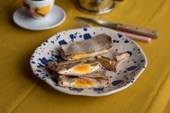 Tortilla z jajkiem