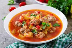 Zupa meksykańska z kurczakiem i ziemniakami oraz z mozzarellą