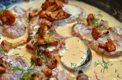 Delikatny sos grzybowy z suszonych kurek