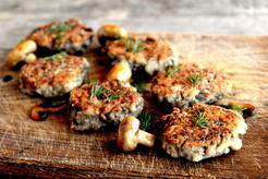 Kotlety z grzybów