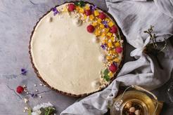 Ciasto z białą czekoladą
