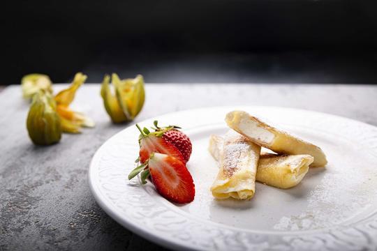 dania obiadowe z owocami