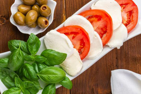 przepisy z mozzarellą