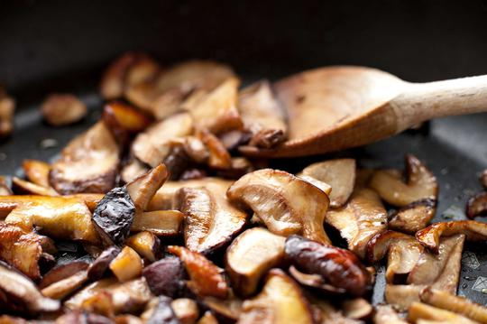 dania z grzybami